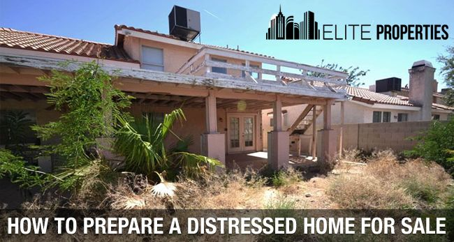 How to prepare a distressed home for sale