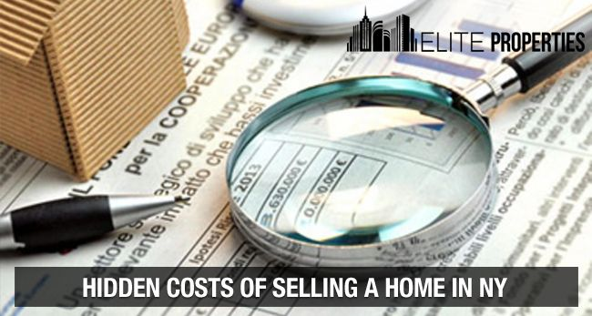 Hidden costs of selling home in NY