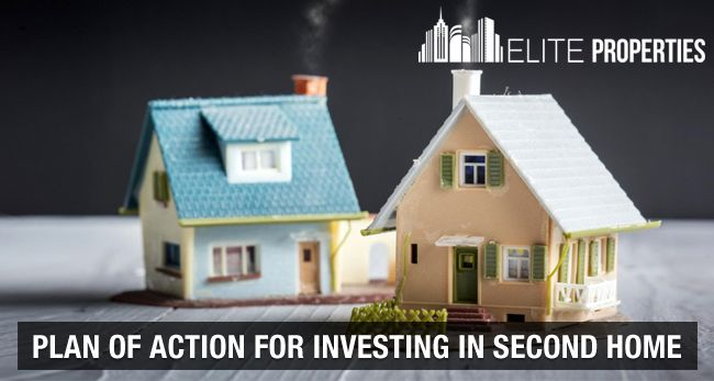Plan of action for investing in second home