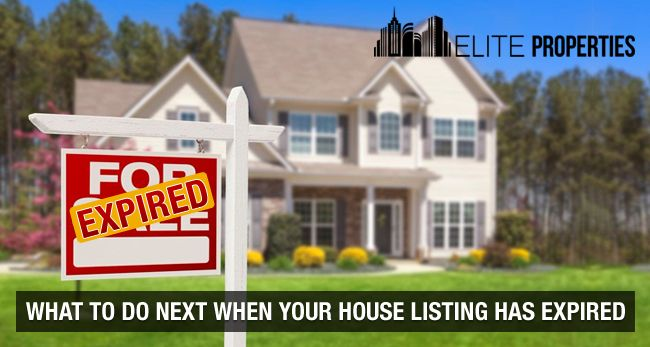What To Do Next When Your House Listing Has Expired