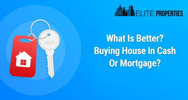 Buying House In Cash